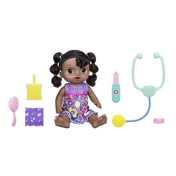 African American Baby Alive Interactive Talking & Crying Baby Doll Sweet Tears