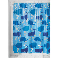 "Bath Time Kids 100% PEVA (non toxic) Shower Curtain 72"" x 72"""
