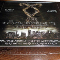 Mortal Instruments: City of Bones Factory Sealed Trading Card Box with 24 Packs!