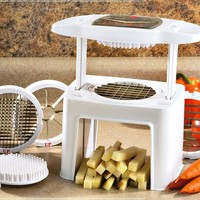 Ronco FS100200GEN Veg-o-Matic Food Chopper and Slicer:Amazon:Kitchen & Dining