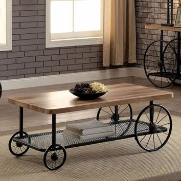 Black Coffee Table By Furniture Of America