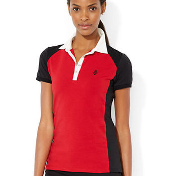 Lauren Ralph Lauren Color-Blocked Polo Shirt