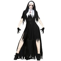 Women's Dreadful Nun Costume - Walmart.com