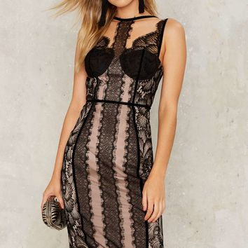 Nasty Gal Dirty Love Lace Dress