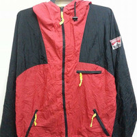 Sale Vintage 1990s Marlboro Adventure Team Windbreaker Outdoor Windbreaker Nylon Jacket
