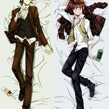 New  Male K Project Anime Dakimakura Japanese Pillow Cover MALE26 MGF-0-755