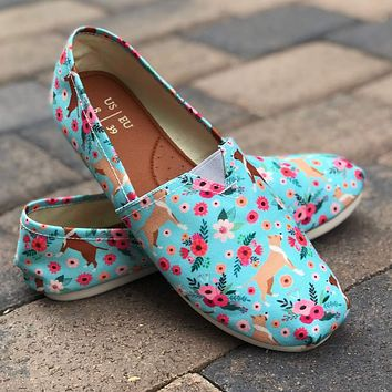 Pit Bull Flower Casual Shoes-Clearance