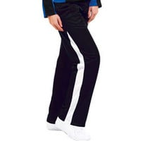 New Signature Poly Tricot Warm-Up Track Pants by Zoe Athletics for Cheerleaders