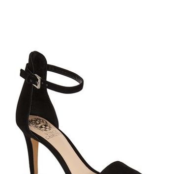 "Women's Vince Camuto 'Court' Ankle Strap Sandal, 3 1/2"" heel"