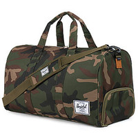 The Novel Duffle Bag in Woodland Camo