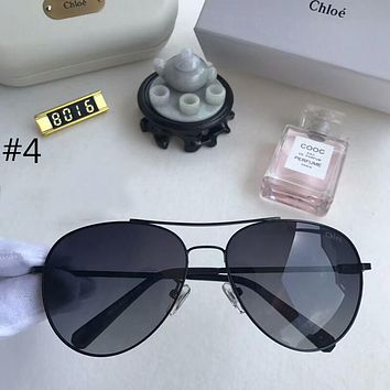 Chloe 2018 trendy men and women with the same polarized sunglasses F-A-SDYJ #4