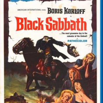 Black Sabbath Movie Poster 24inx36in