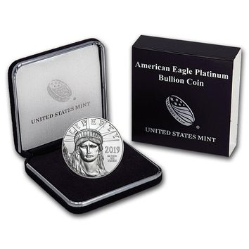 2019 1 oz Platinum American Eagle BU (w/ U.S. Mint Box)