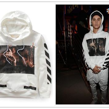 AUGUAU OFF-WHITE hoody