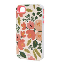 Rifle Paper Co. - Botanical Rose iPhone 4 Case - INLAY
