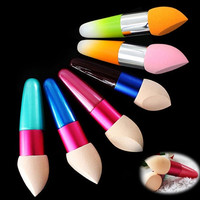 Makeup Sponge Mushroom Lollipop Brushes Lollipop Foundation Brush Cosmetic Random Color = 5612391233