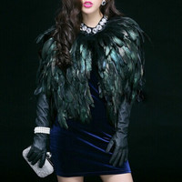 AuNatural Feathered Vest
