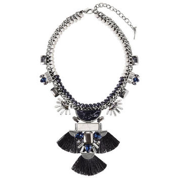 Hero Convertible Statement Fan Necklace