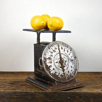 Antique Kitchen Scale, Eureka Family Scale