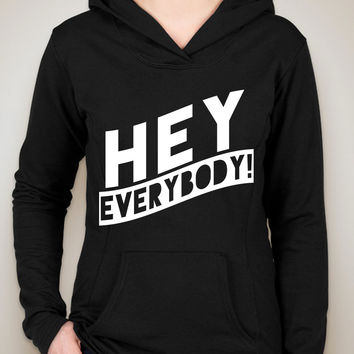 "5 Seconds of Summer 5SOS ""Hey Everybody"" Unisex Adult Hoodie Sweatshirt"