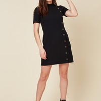 Night Fall Knit Mini Dress