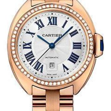 Cartier - Cle de Cartier 31mm - Pink Gold and Diamonds