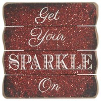 Get Your Sparkle On Wall Decor