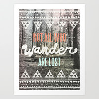 Wander Art Print by Wesley Bird