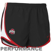 Nike Ohio State Buckeyes Women's Tempo Performance Training Shorts - Black
