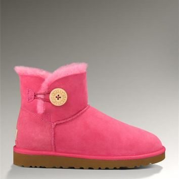 UGG Bailey Button Mini 3352 Boots Rose