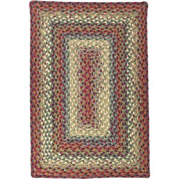 Homespice Decor Cotton Braided Neverland Area Rug