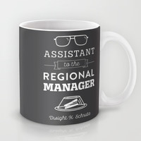 The Office Dunder Mifflin - Assistant to the Regional Manager Mug by Noonday Design