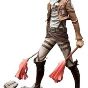 Sen-ti-nel Brave-Act Levi Cleaning Version Attack on Titan Action Figure