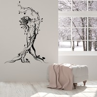 Vinyl Wall Decal Fairy Naked Sexy Hot Girl Tree Nature Stickers Unique Gift (1598ig)