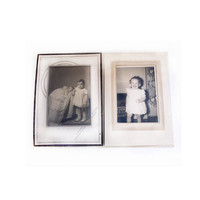 2 Vintage Photographs, Baby / Child Photos