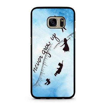 Peter Pan Never Grow Up 2 Samsung Galaxy S7 Case