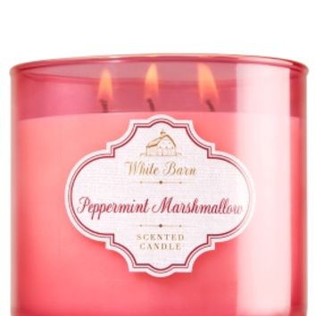 3-Wick Candle Peppermint Marshmallow