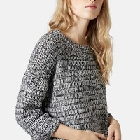 Women's Topshop Slouchy Marl Sweater,