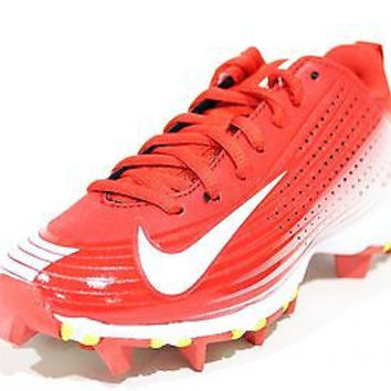 Boy's Nike Vapor Keystone 2 Low (GS) Baseball Cleat University Red/White Size...
