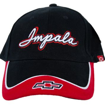 Chevy Impala Hat Two Tone Embroidered Cap