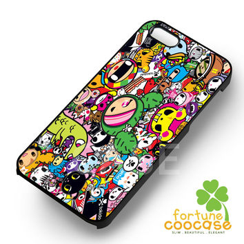 Tokidoki collage -snnh for iPhone 6S case, iPhone 5s case, iPhone 6 case, iPhone 4S, Samsung S6 Edge