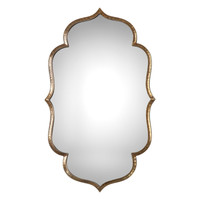 Zina Gold Wall Mirror by Uttermost