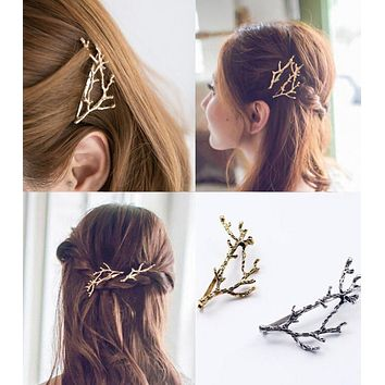 Popular Hair Pin With Antler Hair Clip Bangs Hair Clip Accessories I12169-1