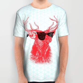 Young Buck. All Over Print Shirt by Nick Nelson