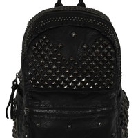 Queen of Darkness PU Leather Studded Backpack