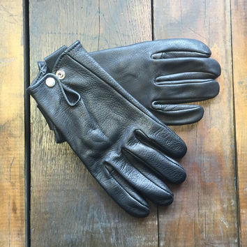 Geier Glove Co., Roper Glove Snap, Black