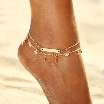 The Starry Anklet