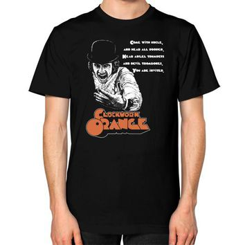 CLOCKWORK ORANGE Unisex T-Shirt (on man)