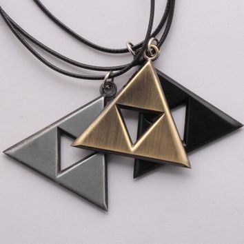 The Legend of Zelda Large Assortment of Metal Pendant Necklaces