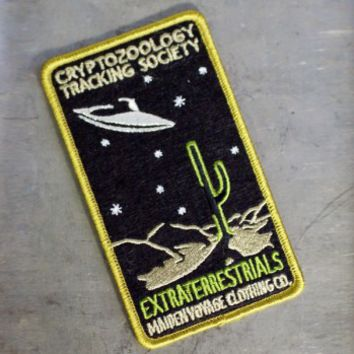 Cryptozoology Tracking Society: Extraterrestrials Patch